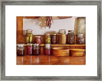 Food - I Love Preserving Things Framed Print by Mike Savad