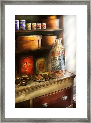 Food - Kitchen Ingredients Framed Print by Mike Savad