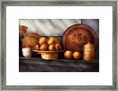 Food - Lemons - Winter Spice  Framed Print by Mike Savad