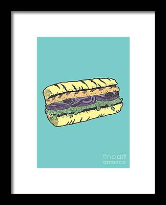 Bread Framed Prints