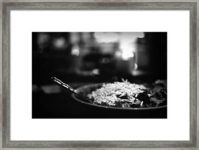 Food On Film Framed Print by Linda Unger