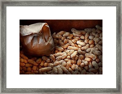 Food - Peanuts  Framed Print by Mike Savad