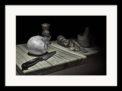Cooks And Cooking Framed Prints