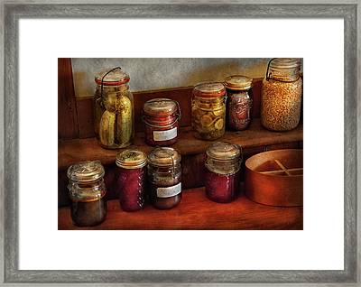 Food - Preserving History  Framed Print by Mike Savad
