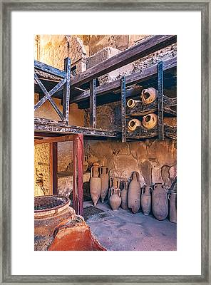 Food Shop Framed Print