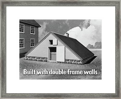 Food Storage, C1942 Framed Print