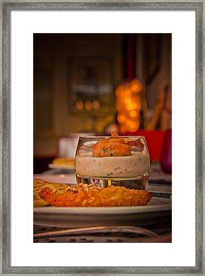 Food With An Atmosphere #01 Framed Print