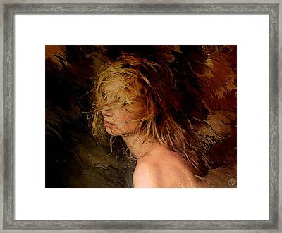 Fooled By The Wind Framed Print by Gun Legler