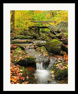 Connecticut Scenery Framed Prints