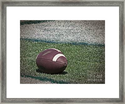 An American Football Framed Print