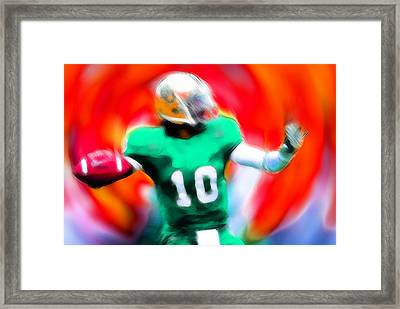 Football Expressions Framed Print by Steve K