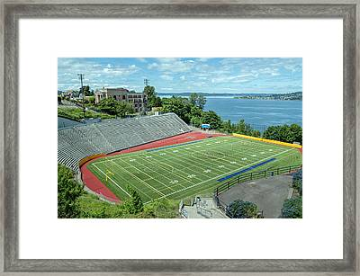 Football Field By The Bay Framed Print