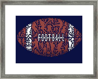 Football Framed Print by Jim Baldwin