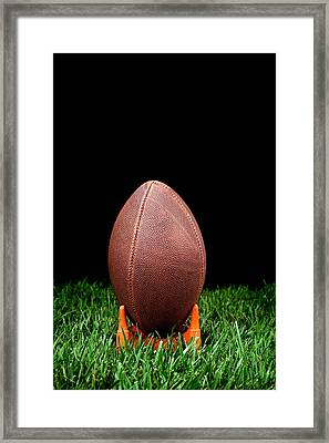 Football Kickoff Framed Print