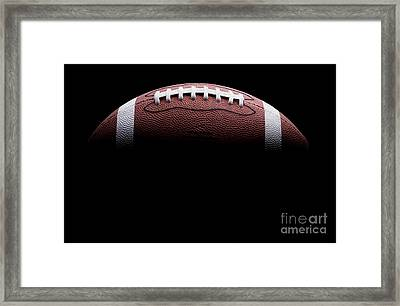 Football Painting Framed Print