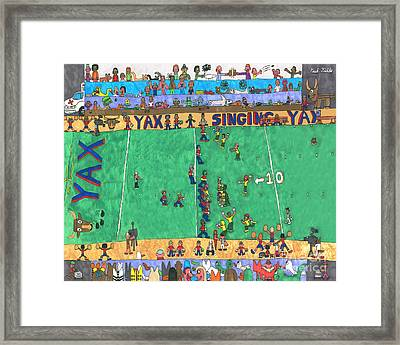 Football Framed Print