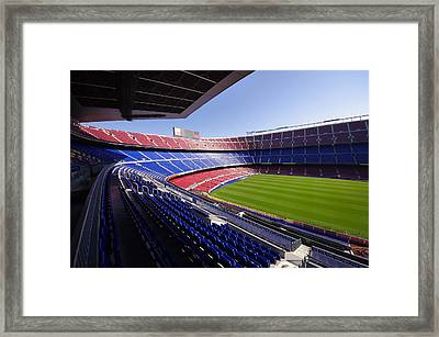 Football Stadium Framed Print by Ioan Panaite