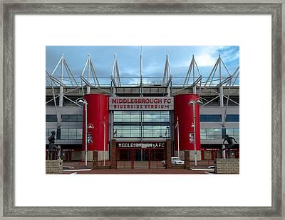 Football Stadium - Middlesbrough Framed Print