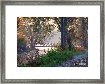Footbridge II Framed Print