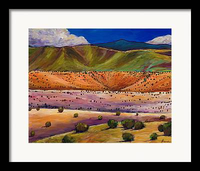 Rocky Mountain Foothills Framed Prints
