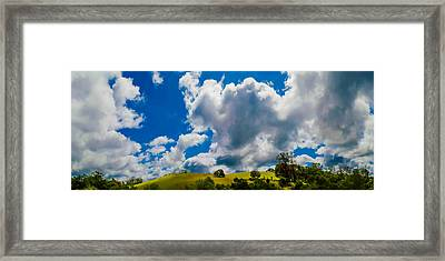 Foothills Framed Print by Along The Trail