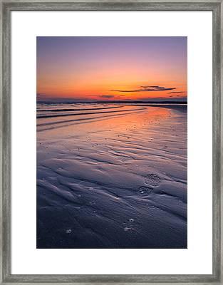 Footstep Framed Print