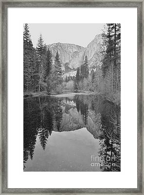 Footsteps Of Ansel Adams Framed Print by Debby Pueschel