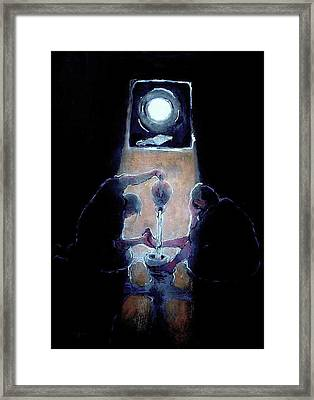 Footwasher Framed Print