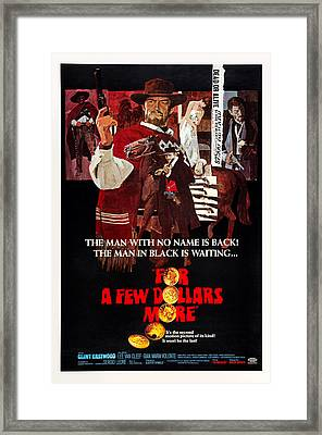 For A Few Dollars More, Aka Per Qualche Framed Print
