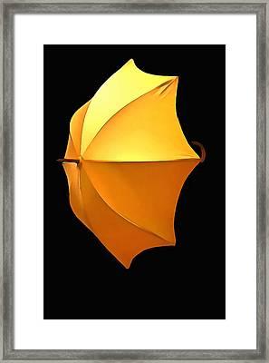 For A Rainy Day Framed Print