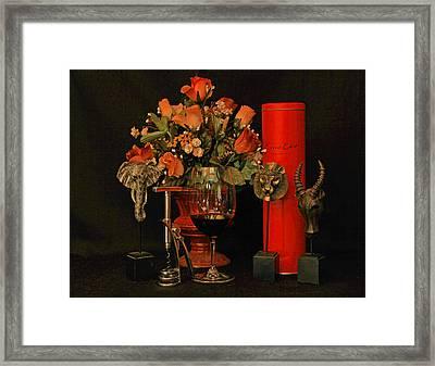 For A Special Occasion Framed Print by John Stuart Webbstock