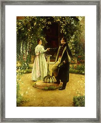 For Always Framed Print by Walter Dendy Sadler