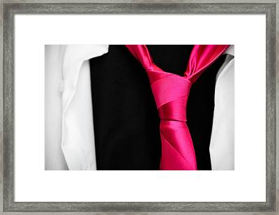 For An Evening Out Framed Print by Pixel Perfect by Michael Moore