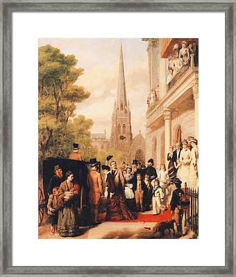 For Better For Worse Framed Print by William Powell Frith