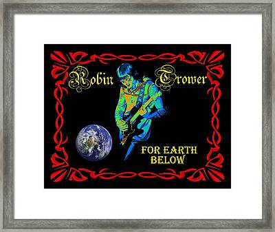For Earth Below #1 Framed Print