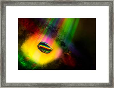 For Georgie On Her Birthday Framed Print by Tom Gort