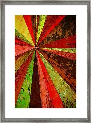 Framed Print featuring the digital art For Heather by Matt Lindley