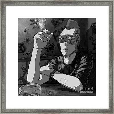 For Hire Framed Print by Brian Gilbert