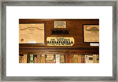 For Medicinal Purposes Framed Print