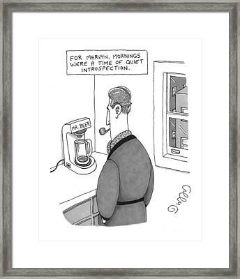 'for Mervyn Framed Print