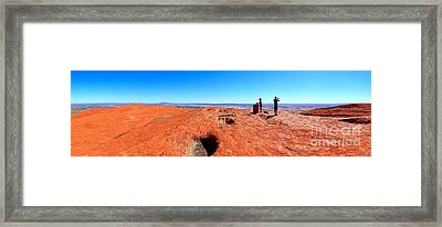 For Miles.....central Australia Framed Print by Bill  Robinson