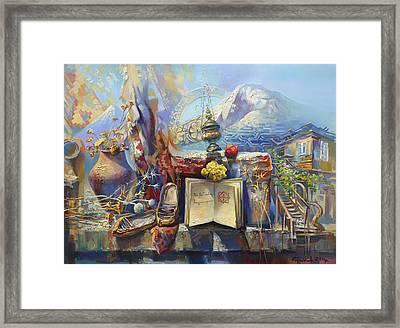 For My Favorite Armenia  Framed Print by Meruzhan Khachatryan