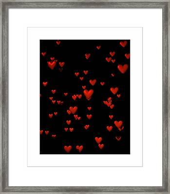 Framed Print featuring the digital art For My Girl... by Tim Fillingim