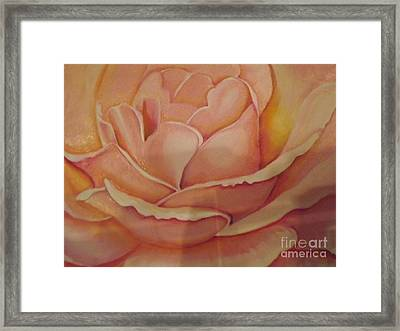 For My Love Framed Print by Bernie Bishop