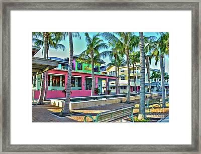 For Myers Beach Restaurant Framed Print