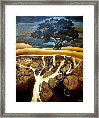 For Now She Sleeps Framed Print by Patricia Howitt