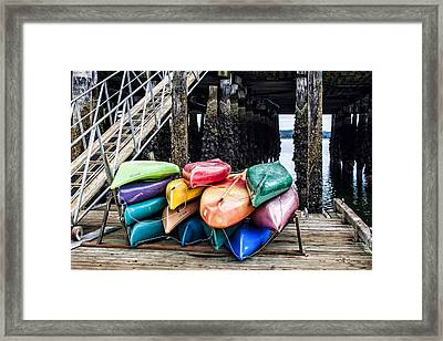 For Rent Framed Print by Jeff Swanson