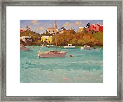 For Sail Framed Print by Dianne Panarelli Miller