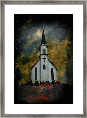 For Some - A Rock Framed Print by Jeff Burgess