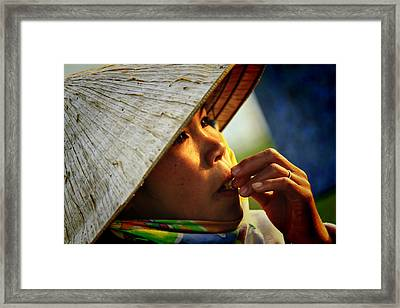 For Survival Framed Print by Suradej Chuephanich